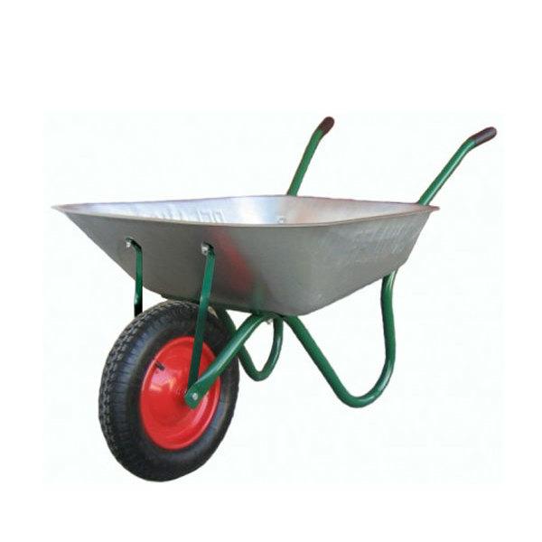 Тачка садово-строительная WB6412 1-кол. 90л(0,7мм)/160кг (4.00-8) пневмо купить оптом и в розницу