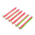 Бигуди пластмассовые-коклюшки пластиковые d=8мм 6шт 439-4 купить оптом и в розницу