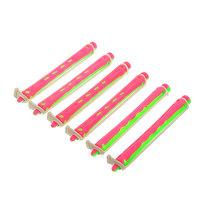 Бигуди пластмассовые-коклюшки пластиковые 6шт, d=8мм купить оптом и в розницу
