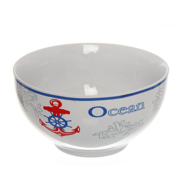 Набор салатников керамических 4шт 360мл ″Океан″ на металлической подставке купить оптом и в розницу