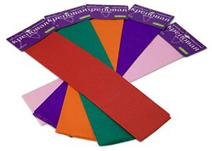 """Бумага крепированная 50*250см, АЛЬТ,""""Цветная"""", пурпурная купить оптом и в розницу"""