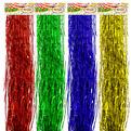 Дождик 1,5м ″Голограмма″ Точка цветной тонкий купить оптом и в розницу