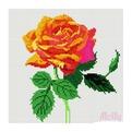 Набор ДТ Картина стразами Розочка DL022 купить оптом и в розницу