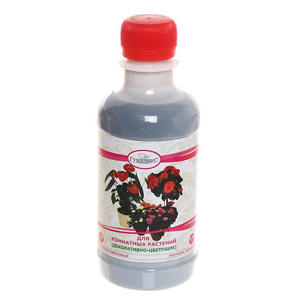 Удобрение торфогуминовое для комнатых растений Декоративно-цветущие 0,25л Гумимакс купить оптом и в розницу