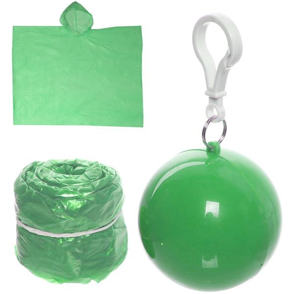 Дождевик Шар пончо 90х120см зеленый купить оптом и в розницу