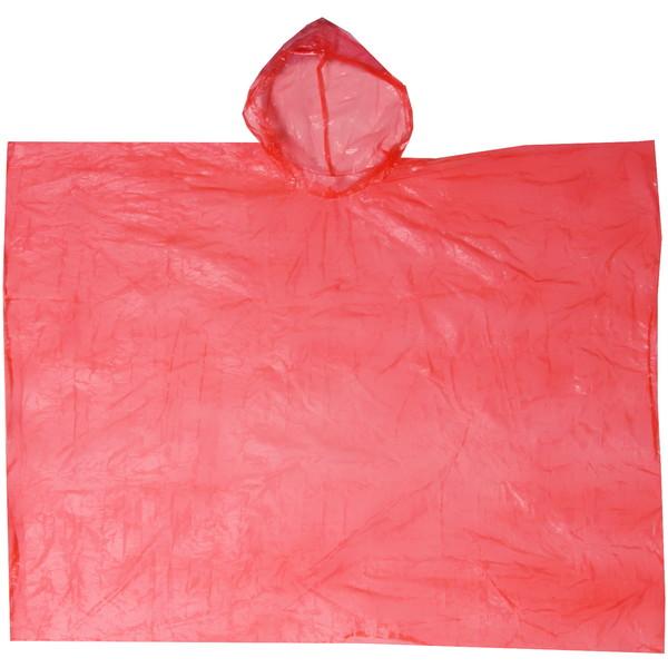 Дождевик Шар пончо 90х120см красный купить оптом и в розницу
