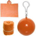 Дождевик Шар пончо 90х120см оранжевый купить оптом и в розницу