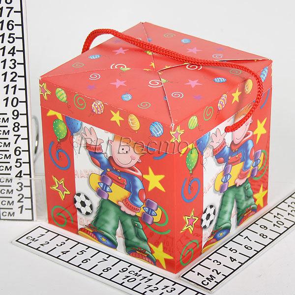 Коробка подарочная 712С (12*12*12см) купить оптом и в розницу