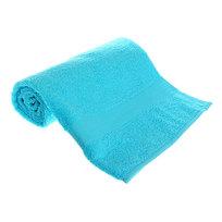 Махровое полотенце 70*140см светло-голубое ЭК140 Д01 купить оптом и в розницу