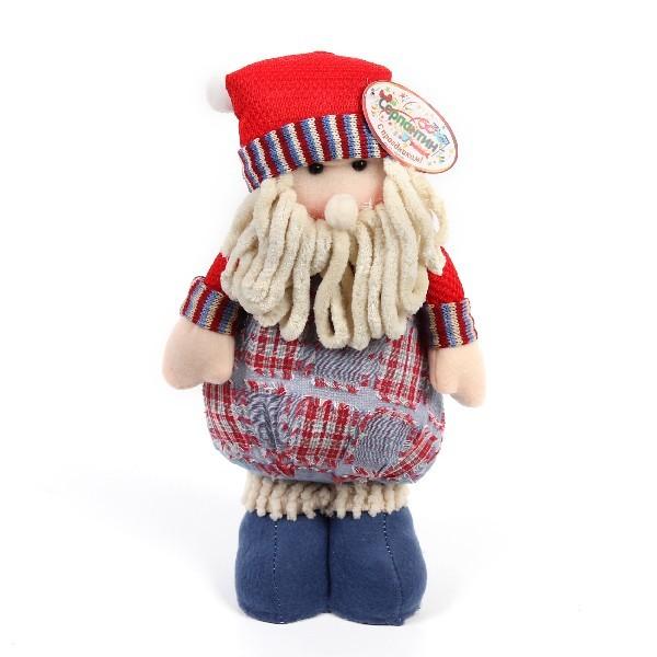 Мягкая игрушка ″Дед Мороз в красном колпаке″ 35см купить оптом и в розницу