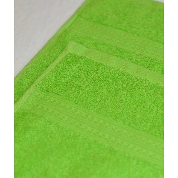 Махровое полотенце 100*180см Салатовое купить оптом и в розницу
