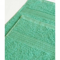 Махровое полотенце 100*180см Светло-зеленое купить оптом и в розницу
