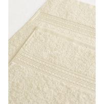 Махровое полотенце 100*180см Светло-кремовое купить оптом и в розницу