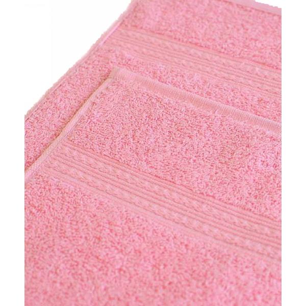Махровое полотенце 100*180см Светло-розовое купить оптом и в розницу