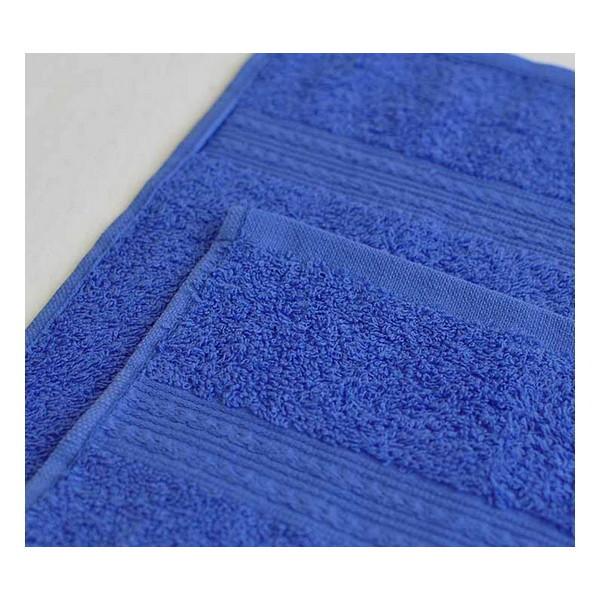 Махровое полотенце 100*180см Синее купить оптом и в розницу
