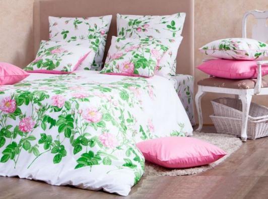 Дуэт перкаль-люкс Patrizia pink 3011/2 Хлопковый Край купить оптом и в розницу