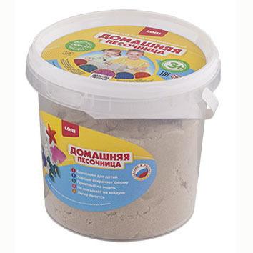 Набор ДТ Домашняя песочница Морской песок 1 кг Дп-010 Lori купить оптом и в розницу