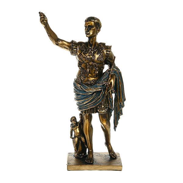 Статуэтка из полистоуна античная Цицерон (бронза) купить оптом и в розницу