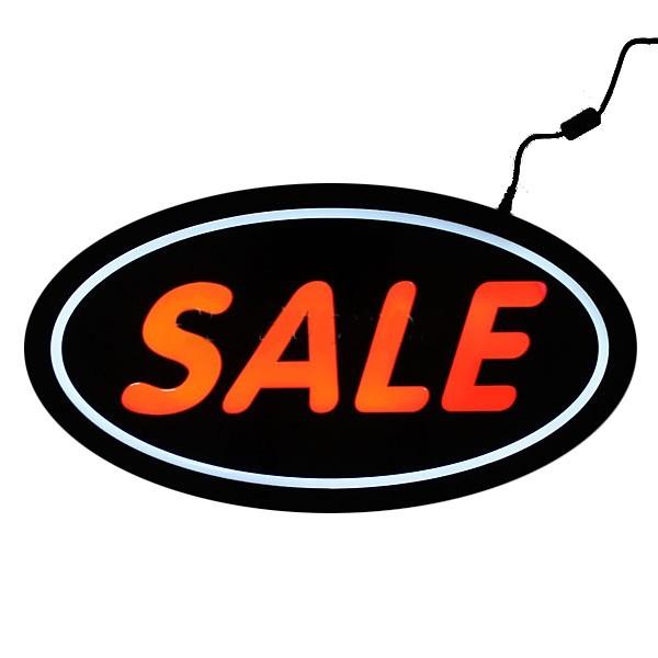 Световое табло 43*23см ″Sale″ 220/12В купить оптом и в розницу
