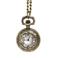 Часы винтажные на цепочке ″Цветочек″ 884-2 купить оптом и в розницу