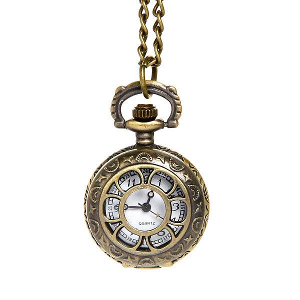 Часы винтажные на цепочке ″Цветочек″ купить оптом и в розницу