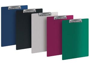 Клипборд-папка A4 Бюрократ пластик. с метал.зажимом, 1,2мм серый купить оптом и в розницу