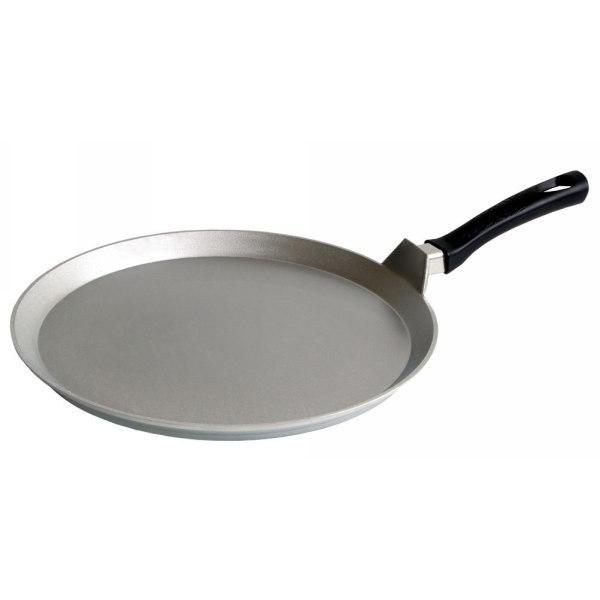 Сковорода-лавашница 35 см литой алюминий КМ-сл350 купить оптом и в розницу