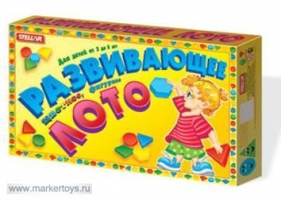 Лото Цветные фигурки 00903 /20/ купить оптом и в розницу