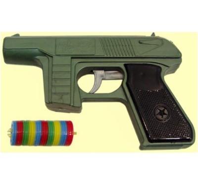 Пистолет с дисковыми пулями С-21-Ф /50/ купить оптом и в розницу