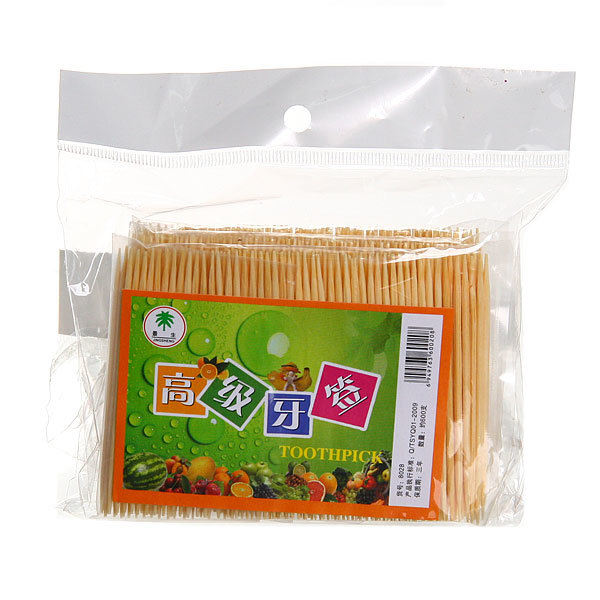 Зубочистки 600шт ″Toothpick″ в пакете купить оптом и в розницу