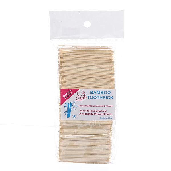 Зубочистки 1000шт ″Toothpick″ в пакете купить оптом и в розницу
