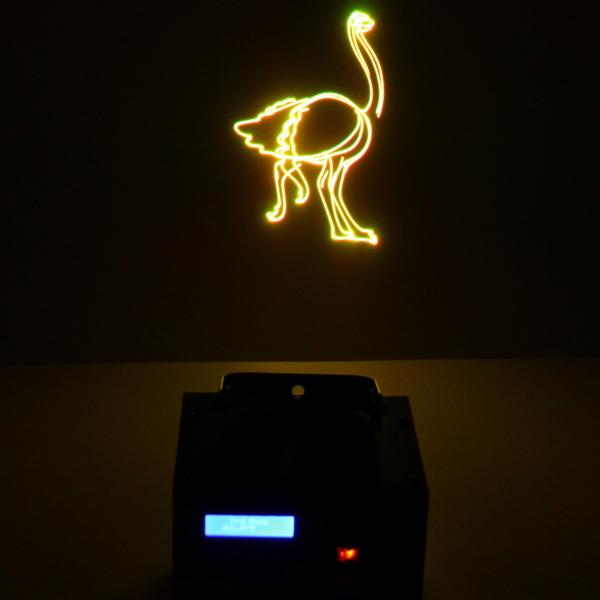 Световой прибор Лазер SD01 RG,mic, auto, програмированные рисунки, microSD купить оптом и в розницу