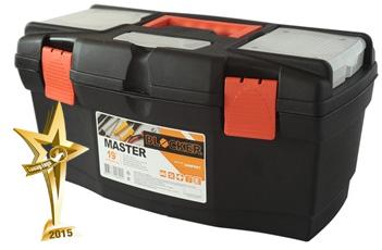 """Ящик для инструментов Master 24"""" черный/оранжевый *4 купить оптом и в розницу"""