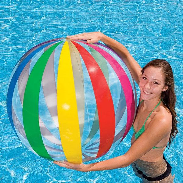 Игрушка мяч пляжный 107 см Jumbo Intex (59065) купить оптом и в розницу