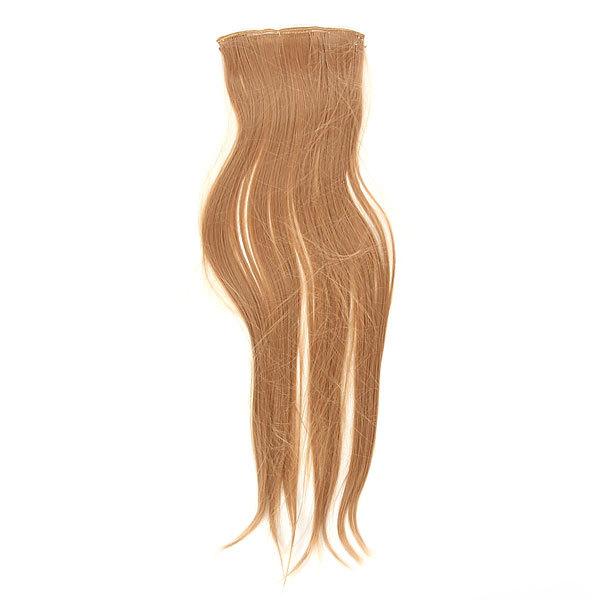 Волосы накладные ″Прядь русая″ на зажимах 13,5*53 см 517-2 купить оптом и в розницу