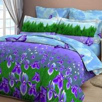 Дуэт бязь 3D Орхидея 4025/1 РБ купить оптом и в розницу