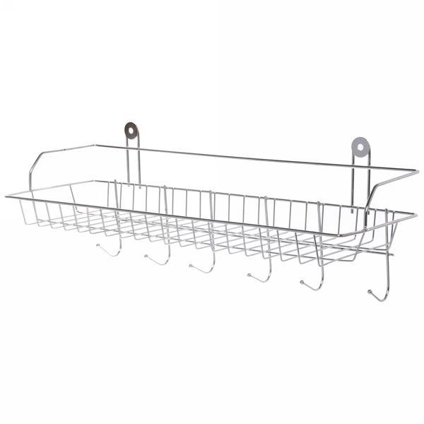 Полка для ванны металлическая 42*14*12 см купить оптом и в розницу