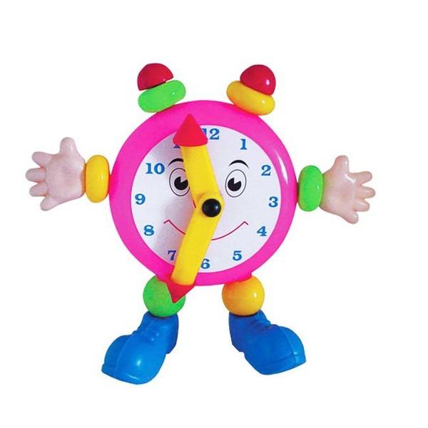 Логич.игрушка Часы веселые 15008 Плейдорадо /20/ купить оптом и в розницу