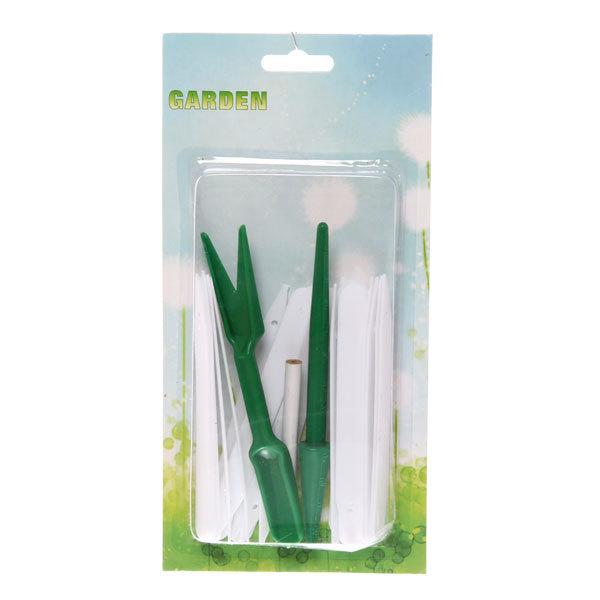 Набор для посадки семян (20 указателей, лопатка, мерный штык) купить оптом и в розницу