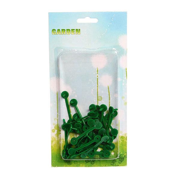 Клипсы для крепления растений 30шт купить оптом и в розницу