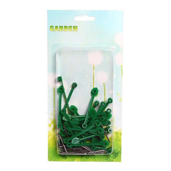 Клипсы для крепления растений 30шт лепесток купить оптом и в розницу