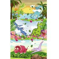Наклейки Динозавры 1697 /Квадра/ купить оптом и в розницу