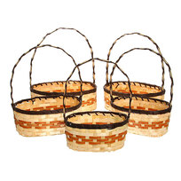Корзина декоративная плетеная (5шт) 128 купить оптом и в розницу