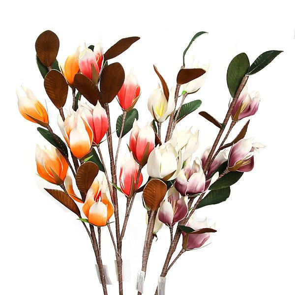 Цветок искусственный 110см декоративный Яркая нежность 1421 купить оптом и в розницу