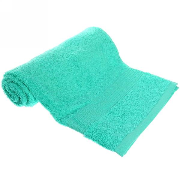 Махровое полотенце 50*90см светло-зеленое ЭК90 Д01 купить оптом и в розницу