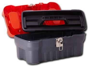 """Ящик для инструментов Expert 16"""" серо-свинцовый * 14 купить оптом и в розницу"""