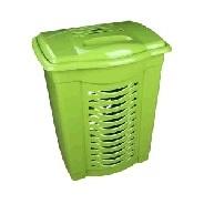 Корзина для белья 60л. (зелёный)(уп.7) (Октябрьский) купить оптом и в розницу