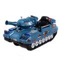 Электромобиль 5388-3НС Танк синий купить оптом и в розницу