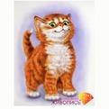 Набор ДТ Картина стразами Важный кот АЖ-1188 купить оптом и в розницу