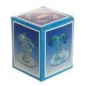 Фигурка стеклянный ″Пара ″ на круглой подставке 6 см купить оптом и в розницу
